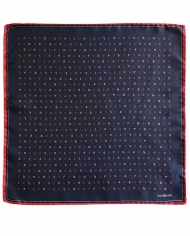 Sinoian Red Alphabet pocket square 2