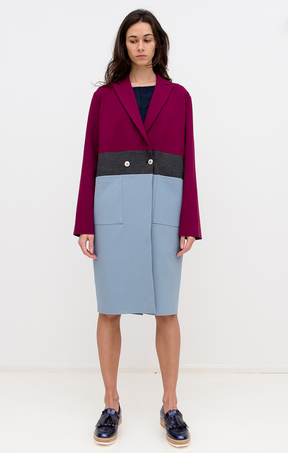 Colour_block_jersey_coat_The_Muse_1