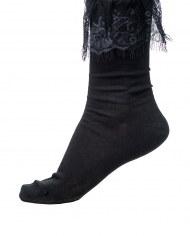 Seraphima socks Black lace 1
