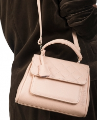 Inga Xavier Quilted bag mini pink 3