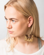 Soors Jewellery Curve Earrings 1