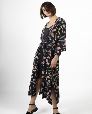 Petoor printed robe lookbook