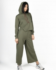 Petoor Khaki set lookbook 2