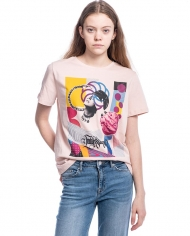 Shabeeg pink graphic t-shirt 2