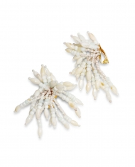 IK Beaded earrings White 3